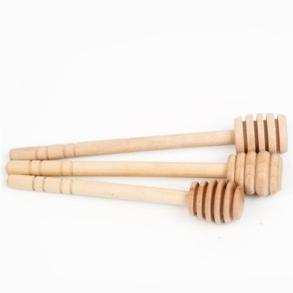 Home & Kitchen, honeyspoon, Wooden, honeystirringrod
