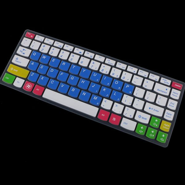 9 Colors Silicone Keyboard Cover Skin for Lenovo B470 G470 14/'/' Laptop