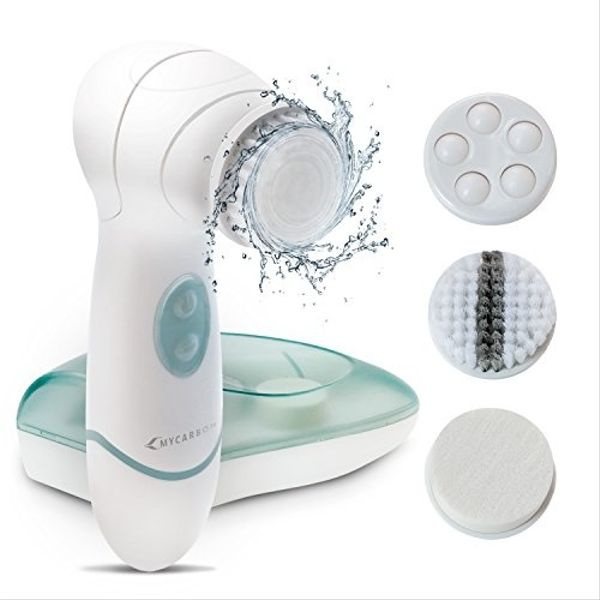 Mycarbon Electric Face Brush Ipx5 Waterproof Facial Cleansing
