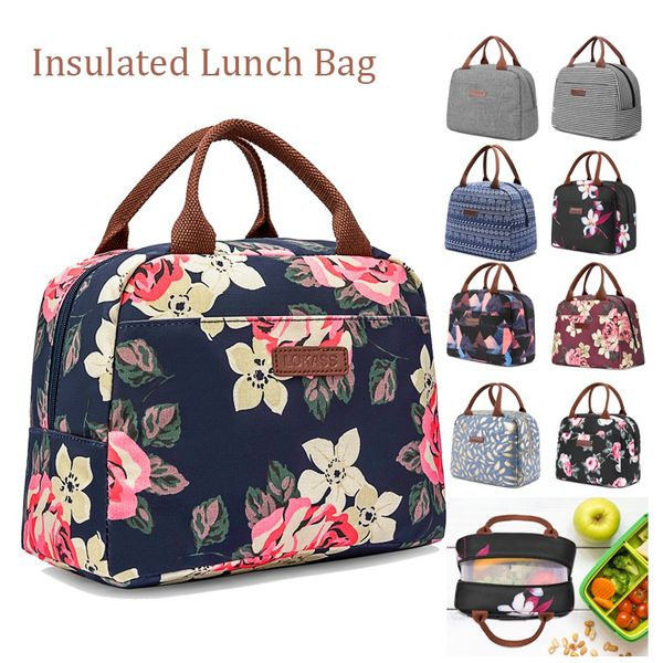 Tote Bag Insulated Lunch Box
