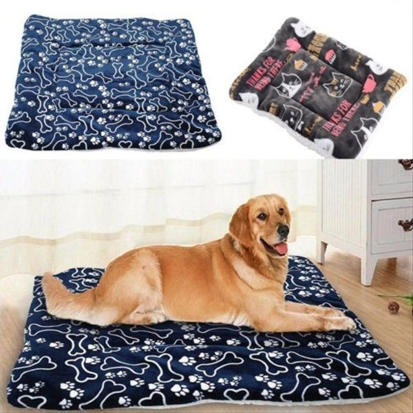 Pet Bed For Dogs Cats Crate Mat Soft Warm Sprinted Pad Liner Home Indoor Outdoor Wish