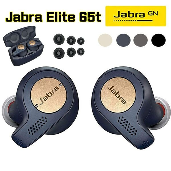 New 1 1 Refurbished Jabra Elite Active 65t Alexa Enabled True Wireless Bluetooth Sports Headphones Voice Noise Reduction Ultra Long Standby With Charging Case For Ios Android Wish