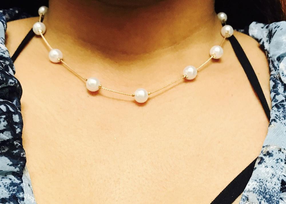 Wish   Korean Women Girls Fashion Artificial Pearls Golden/Silver ...