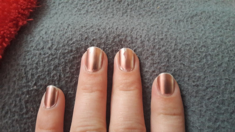 9ml 6ml Rose Gold Nail Polish Mirror Effect Shimmer Nails Smooth Metallic Varnish Shiny Beauty Fashion For Women