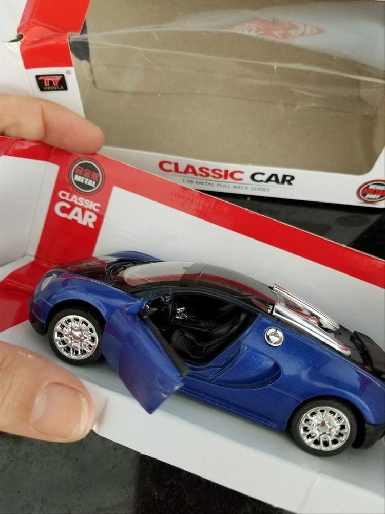 Wish Cool Car Model Bugatti Veyron Alloy Diecast Cars Sound - Cool car models