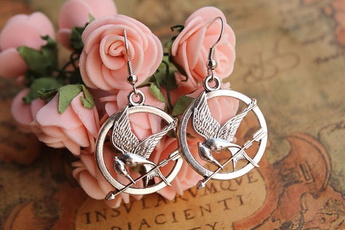 hunger games, Birthday Gift, Fashion Jewelry, Earring