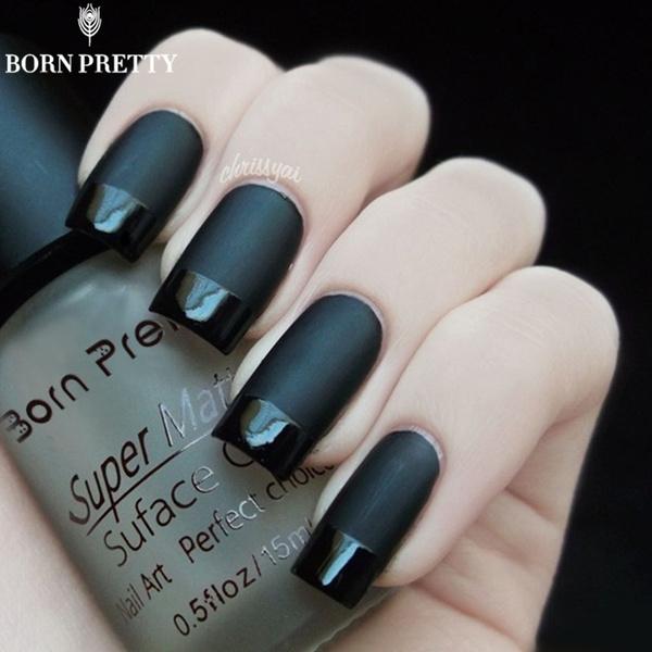 Born Pretty 15ml Super Matte Change Surface Glossy Oil Nail Polish ...
