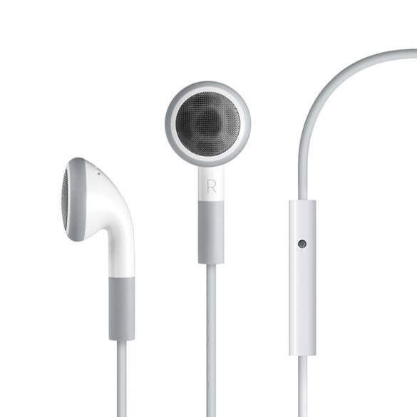 Picture of Stereo Headphone Earphone Mic For Iphone 2g 3g