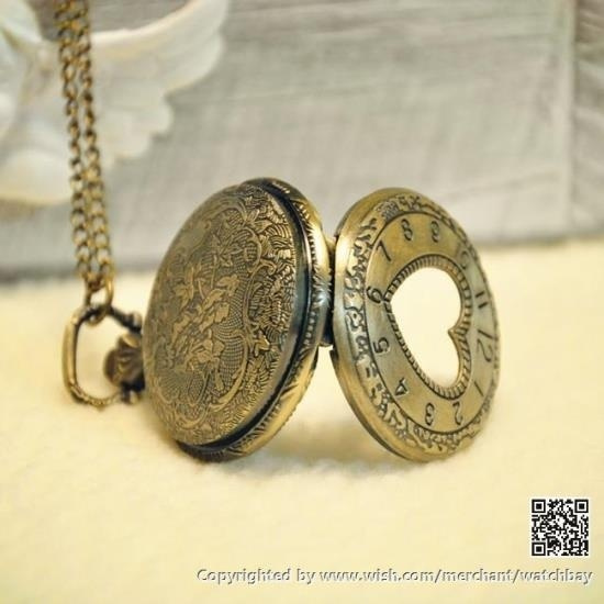 Wish pocket watch vintage compass style necklace locket pendant wish pocket watch vintage compass style necklace locket pendant chain head portrait tx0112 aloadofball Choice Image