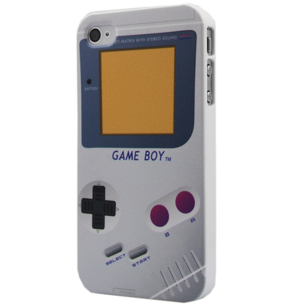 Cute Unique Nintendo Game Boy Hard Back Cover Case Skin for iPhone 4 4S  Verizon AT&T T-Mobile Sprint