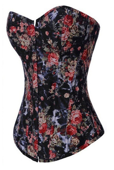 corset top, slimmingshapewear, denimcorset, Denim