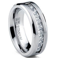 tungstenring, tiffany wedding rings, Stainless steel ring, Men's Fashion