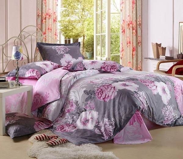 Wish | King Queen Twin Size Bedding Sets/bedclothes/ Duvet Covers Bed Sheet  The Bed Linen Home