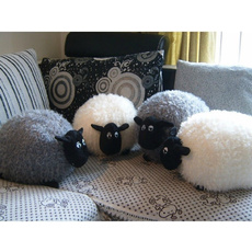 Sheep, Gray, Toy, softplushtoy