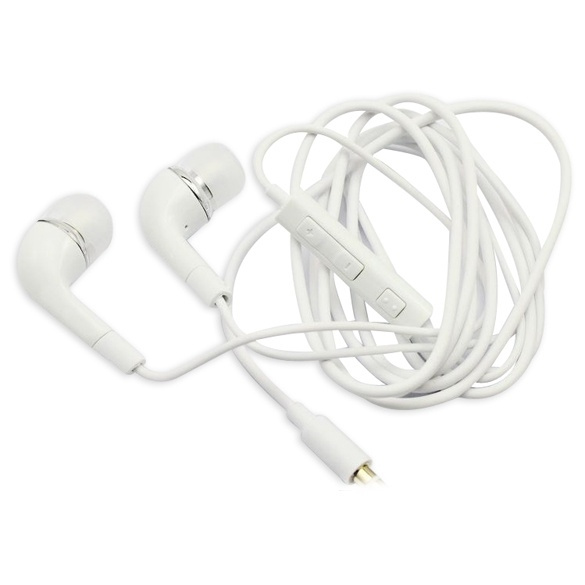 Picture of In-ear Earphone Earbud Headset With Mic For Samsung Galaxy S3 Siii I930 Color White