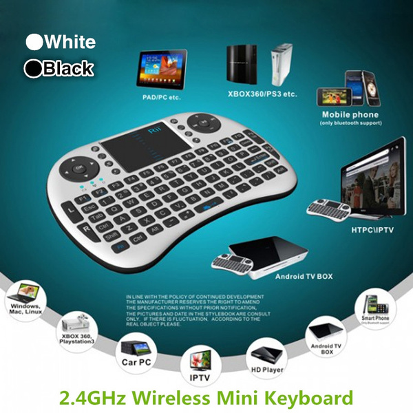 Picture of 2.4g Rii Mini I8 Wireless Keyboard With Touchpad For Pc Pad Google Andriod Tv Box Computer Laptop Accessories Mouse Accessories C1331