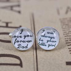 glassdome, Wedding Accessories, Cuff Links, Silver Cuff Links