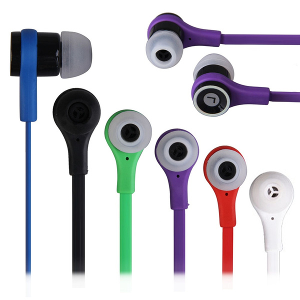 Picture of Multicolor 3.5mm Plug In-ear Earphones