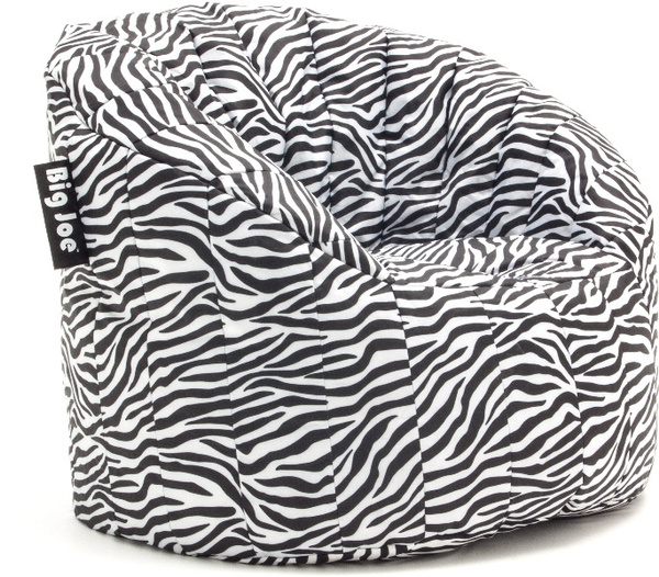 Charmant Wish | Big Joe Lumin Bean Bag Chair (SmartMax)  Zebra