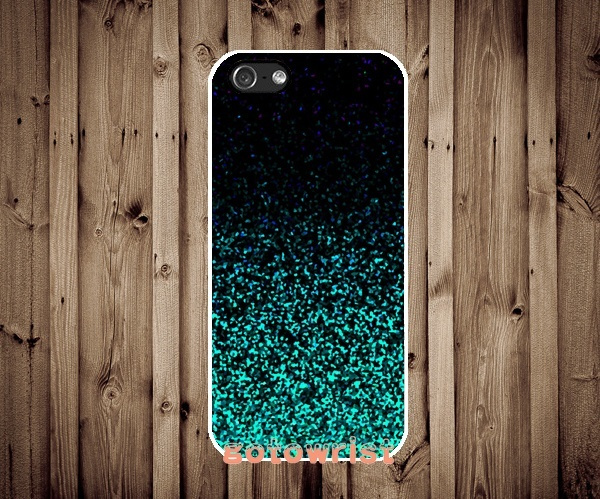 uk availability ad184 798e0 Mint Sparkle Glitter Case Cover for Apple iPhone and Samsung Galaxy