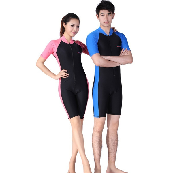 2b63a4aa5b Men or Women wet suit for diving swimming and surfing wetsuit diving suit  One-pieces Surfing Suit | Wish