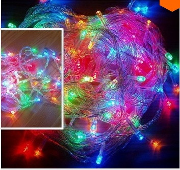 wish r9 hot selling led flasher lighting 10 meters 100 lamp mantianxing string light garden christmas lights lawn lamp end plug