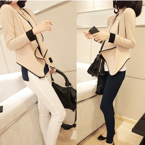Jacket, shoulderpad, Coat, Long Sleeve