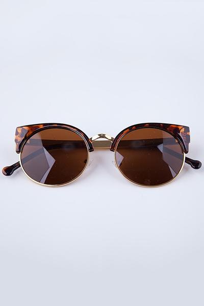 985e2116fa6f31 Wish   Taille Unique Lunettes de soleil Vintage rondes