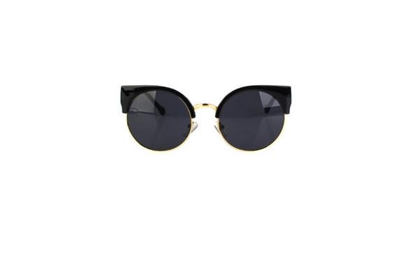 85ed1e9c2b Taille Unique Lunettes de soleil Vintage rondes   Wish