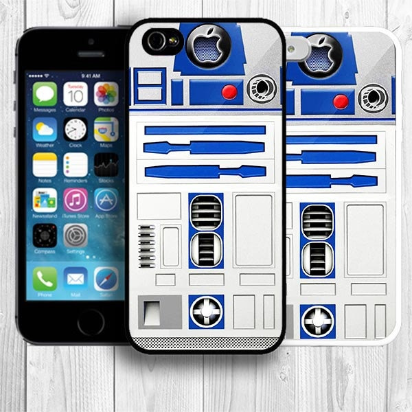 R2D2 iPhone 5s Case, Star Wars iPhone 5s Case Robot iPhone 5S Back Cover  --000003