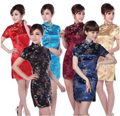 Fashion, Chinese, women dresses, cheongsam