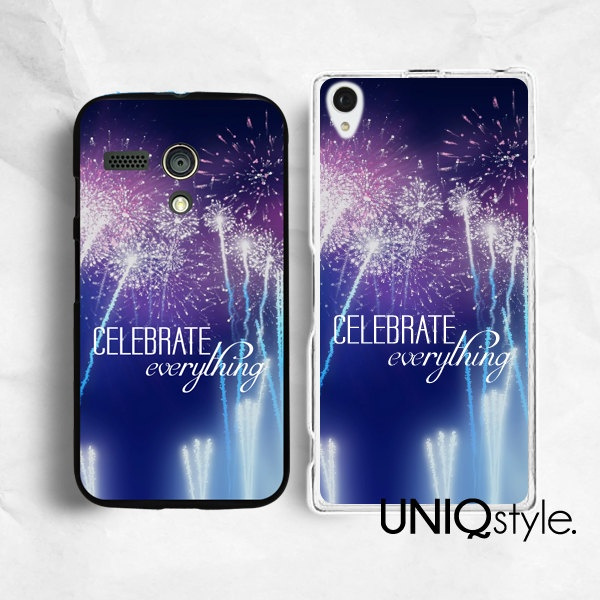 check out a8032 93f5c Life quote Sony Motorola phone case for Sony Xperia Z Xperia Z1, Moto G  Moto X, life quote typo back cover for Sony Motorola, fireworks, E80