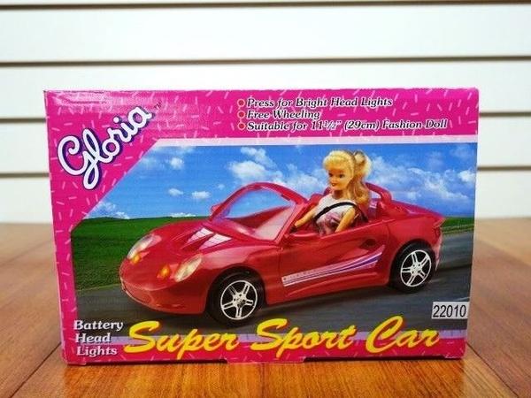 cute best sell clearance sale Gloria,Barbie Doll Furniture Super Sport Car