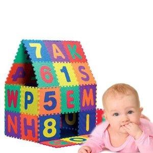 Tappeto Morbido Per Gattonare : Wish puzzle eva mat tappeto bambini neonato bambino