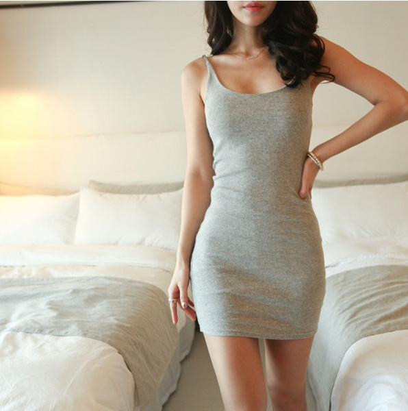 Wish Women Summer Plus Size Dirndl Tight Dress 4 Colors
