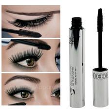 1 PCS New Eye Lashes Makeup Waterproof Long Eyelash Black Silicone Brush Head Mascara AP