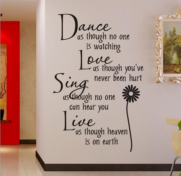 Wish wall sticker dance as 0776 stickers manufacturers cartoon style living room bedroom childrens room wall decoration stickers for home deco vinyl