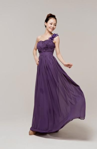 Wish | Long Purple Wedding Guest Dresses,Bridesmaid Dress ...