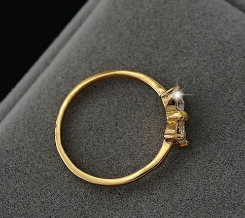 bow tion mint no gold products love rings cute ring