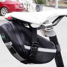 New Cycling Bicycle Bike Saddle Outdoor Pouch Seat Waterproof Bag Case Black VVF