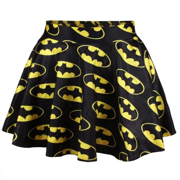 Batman Logo full skater style skirt