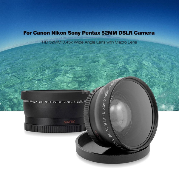 58mm 043x Altura Photo Professional Hd Wide Angle Lens W Macro Portion For Canon Eos Rebel 77d T7i T6s T6i T6 T5i T5 T4i T3i T3 Sl1 1100d 700d 650d