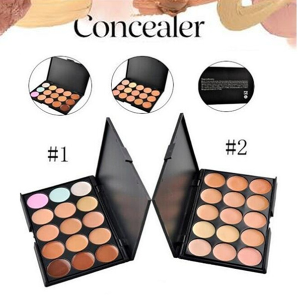 Picture of New Professional 15 Color Camouflage Concealer Make Up Cream Palette