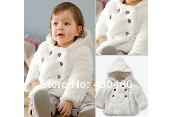 Wish | Top Quality kid coats outerwear clothing baby girls Warm ...