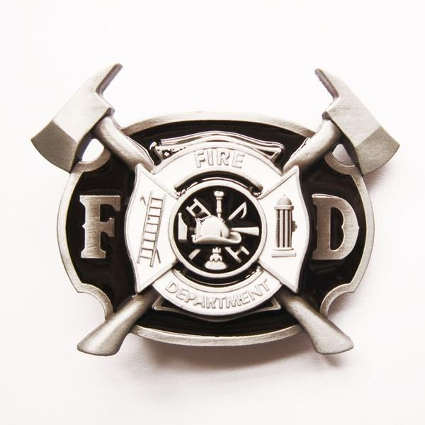 New Fire Fighter Cross Vintage Belt Buckle Gurtelschnalle