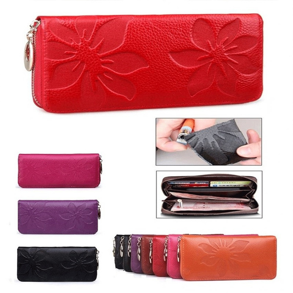 Picture of Fashion Lady Women Leather Pu Purse Clutch Wallet Handbag Card Holder Bag