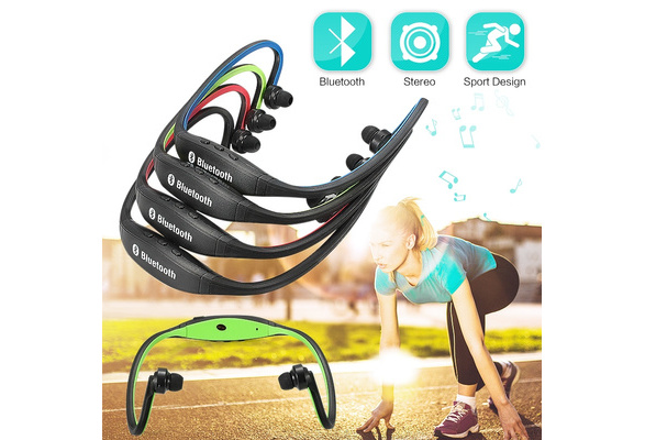Sports Wireless Buletooth Headset Earphone Headphone for Galaxy