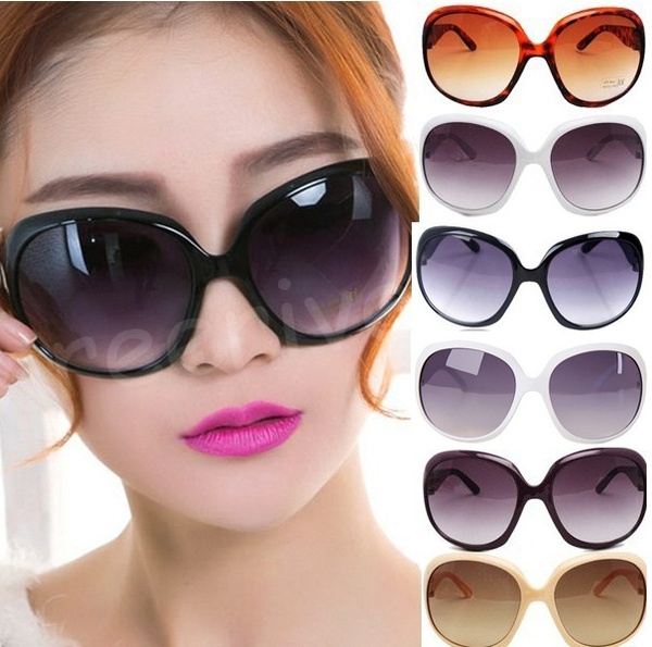 Picture of Sexy Fashion Multi-colors Women Lady's Large Classic Shopping Sunglasses Eyewear
