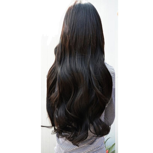 Bien connu Wish | Fashion Long Curly Fashion Clip in Hair Extensions 5 Clips  HH97