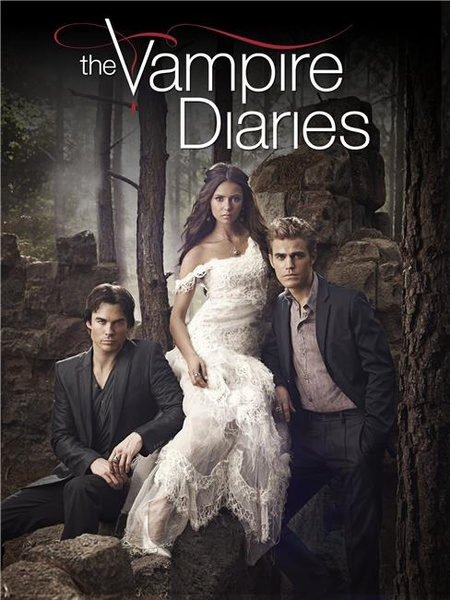 The Vampire Diaries Season 5 Silk Print Poster Silk Printing 447499